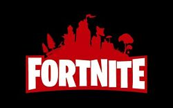 Fortnite Vinyl Banner Flag Sign Gaming Video Game Arcade Ps5 Ps4 Xbox One Pc