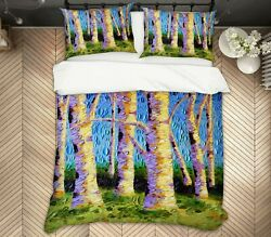 3d Tree Trunk 1472na Bed Pillowcases Quilt Cover Duvet Dena Tollefson Fay