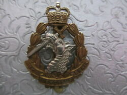 British Army Dental Corps Cap Badge  Queen's Crown Issue