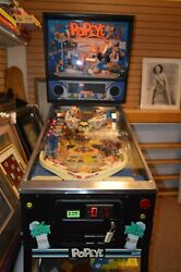 Popeye Saves The Earth Pinball Machine 1994 Manufactured By Bally