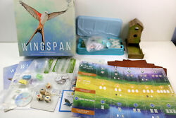 Wingspan Board Game Complete In Original Box Some Parts Unopened