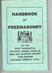 Vintage Occult Masonic Lodge Book Q And A Ritual Services - Handbook 1985