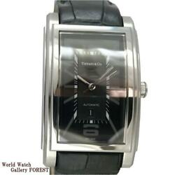 And Co. Grand Automatic Leather Belt Z0031 68 10a10a70a Men's Watch[b0704]