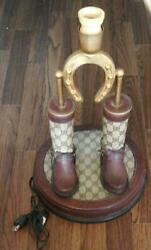 Authentic 1970s Antique Lamp Only Stand