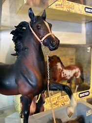 traditional breyer size Halter and lead model horse peter stone tack
