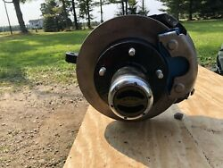 Dana 44 Front Axle Low Pinion Ford 56 Wms 5 On 5.5 Jeep Spring Under Wagoneer