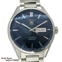 Tag Heuer Carrera Calibre 5 War201e Automatic Stainless Men's Watch [b0705]