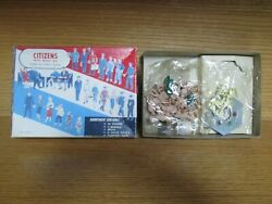 Vintage Box Bachmann Bros. Plasticville Citizens Paint Kit Scaled To O And S Gauge