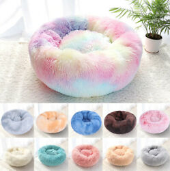Orthopedic Soft Calming Pet Bed Anti Anxiety for Small Medium Large Dogs Cats