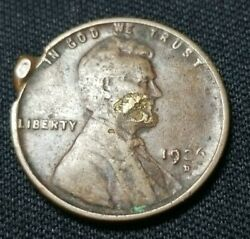 1926 D Wheat Penny Cent Error Coin Lots Of Errors Please Take A Look Zombie Face