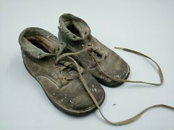 Antique Star Brand Unisex Infant Toddler Baby Shoes Leather Vintage Sneakers