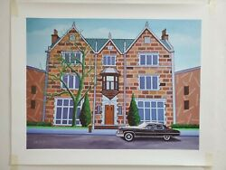 770 Eastern Parkway Chabad The Rebbe's Car Limited Edition Giclee/canvas 58/10