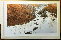 Bev Doolittle Doubled Back New In Original Gallery Box. Numbered And Signed