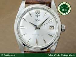 Tudor Oyster Date Big Rose Ref.7992/0 Vintage Ss Manual Winding Mens Watch