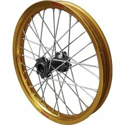Gold/black 1.60 X 21 Excel Pro Series Complete Front Wheel - Uf4ak412