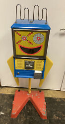 Vintage Mouthy Marvin Gumball / Capsule 25 Cent Coin Op Machine Northwestern