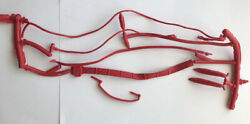 Vtg New Marx Johnny West Adventure Chief Cherokee Unseparated Rope,belt,straps,