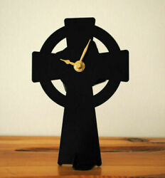 Metal Clocks Made In Ireland -battery Operated -quartz- Mantlepiece-tabletop