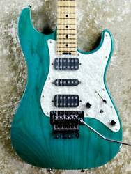 Electric Guitar Schecter Ex-5-22-std Frt Fret 80 Ash Body Right Handed Used