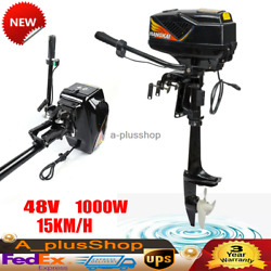 48v 1000w Outboard Motor Electric Trolling Motor Fishing Boat Outboard Engine