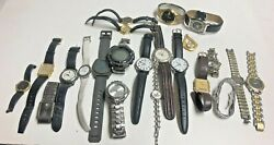 Lot 22 Name Brand Watches - Relic Fossil Seiko Citizen Timex Guess Skagen And More