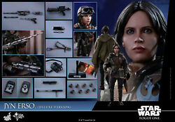 Hot Toys Mms 405 Star Wars Rogue One Andndash Jyn Erso Version Deluxe