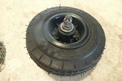 46 Cessna 140 120 Rear Tail Wheeltail Wheel Rim And Tire Assembly 2.80/2.50-4