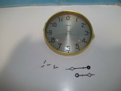 Ansonia Time And Strike Mantel Clock Dial Complete With Hands And Mounting Screws