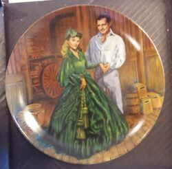 Gone With The Wind Collection Plate Plate 7 Of 9 Bradford Exchange