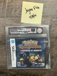 Pokemon Mystery Dungeon Explorers Of Darkness Vga 80 Nm Free Shipping