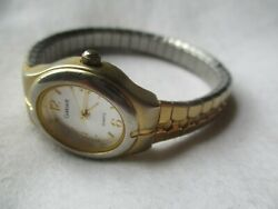 Carriage By Timex Analog Wristwatch With An Expansion Band And Quartz Movement
