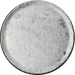 [840529] Coin Brazil Centavo Nd 1967 - 1978 Blank Planchet Au Stainless