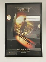"""The Hobbit An Unexpected Journey, Framed Movie Poster, Approx. 27"""" X 40"""""""