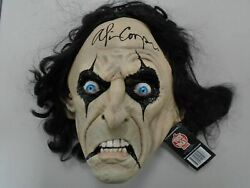 Alice Cooper Signed Mask Licensed Trick R Treat Autograph Rock N Roll Icon Jsa