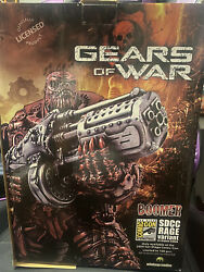 Gears Of War Boomer Statue Rage Edition 13/100 Super Rare Sdcc Exclusive