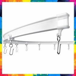Curtain Track Ceiling Mounted Bendable Curved Window Rail Room Divider Kxlife