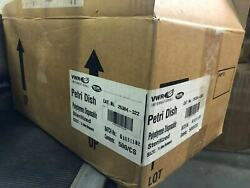 23 Bags New Vwr Petri Dish 50mm X 75mm 25384-322 Polystyrene Disposable Sterile