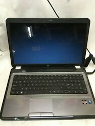 HP Pavilion g7 1219wm Notebook PC Laptop for parts Bad LCD Screen NO HDD RAM JR $45.00