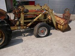 Hydraulic Dump Material Bucket Loader For Ih 300 350 330 Utility Tractor