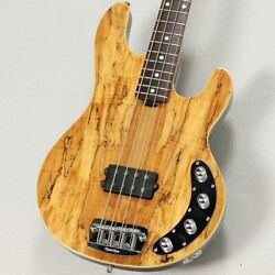 Electric Bass Ernie Ball Musicman Limited Edition Spolted Maple Stingray Used