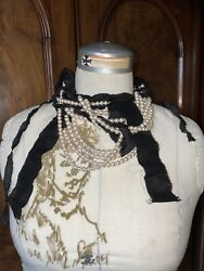 Lanvin Pearl Necklace French Designer Jewelry