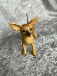 Mortens Studio Standing Chihuahua Dog Figurine With Label Excellent
