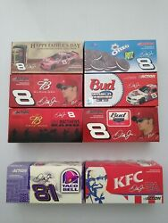 Nascar Dale Earnhardt Jr. Action Racing 2004 Diecast Cars Set Of 8 New In Box