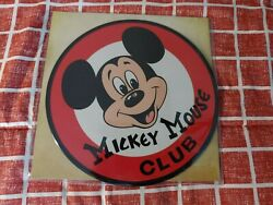 Mickey Mouse Club 10andrdquo Picture Disc Record Sound Track Vinyl New Mousketeer March