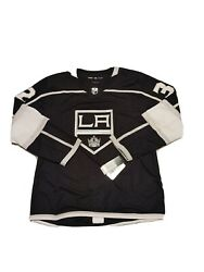 Nwt Adidas La Los Angeles Kings Climalite Quick Black Jersey Size 52 L Home