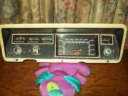 1968 Plymouth Valiant Instrument Cluster Speedometer Gauges Switches And Lights