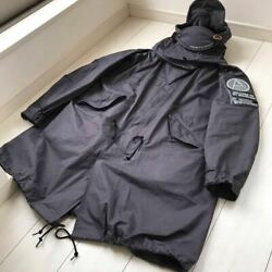 2020 Mountain Research Anarchy Mod Coat Hoodie M-65 Us Army Size M 100 Cotton