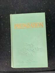 Preparation J.f. Rutherford Watchtower Bible And Tract Society 1933 Hardcover