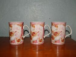 Royal Albert Old Country Roses Afternoon Tea Pink China Cups Philippa Mitchell 3