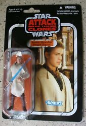 2010 Hasbro Star Wars Vc32 Attack Of The Clones Anakin Skywalker, Action Figure